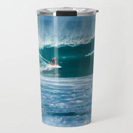 Surfing Hawaii Travel Mug