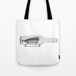 The Hipster Narwhal Tote Bag