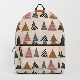 christmas wrapping paper Backpack