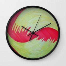 A Flutter of Sorts Wall Clock