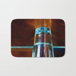 Abstract Colors Through Glass Bath Mat