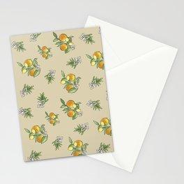 Citrus Orange Grove_ neutral palette Stationery Cards