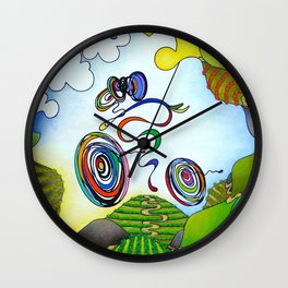 Bicycle, Cycling - Wine Country Rouleur Wall Clock