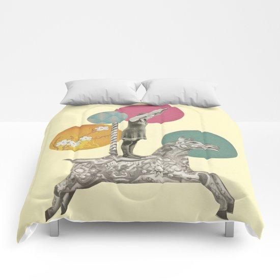Runaway Horse Comforters