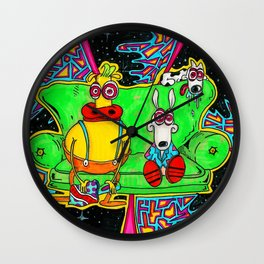 Rocko's Modern Couch Wall Clock