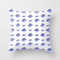 Day 044   #margotsdailypattern Throw Pillow