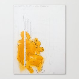 110 South Canvas Print