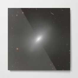 Hubble Space Telescope - A young elliptical Metal Print