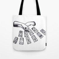 tarot Tote Bags featuring Tarot by Ana Petre