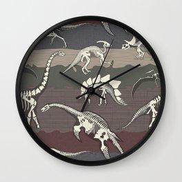 Dinosaur's Dig Wall Clock