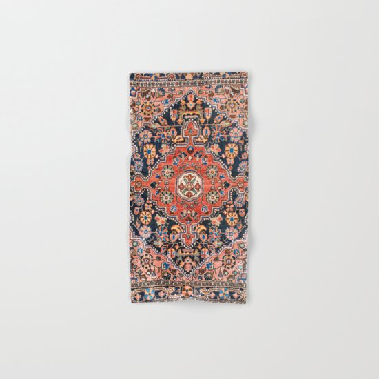 Djosan Poshti West Persian Rug Print by vickybragomitchell