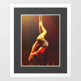 Midnight Circus Chicago Art Print