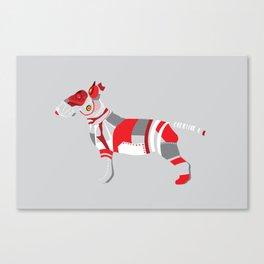 Mechanical Bull Canvas Print