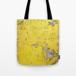 Yellow Weathered Wood rustic decor Tote Bag