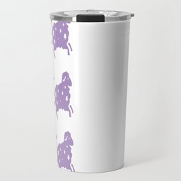 Glitter Sheep Travel Mug
