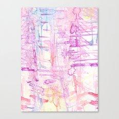 water colour simplicity Canvas Print