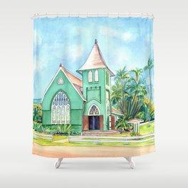 Wai'oli Hui'ia Church Shower Curtain