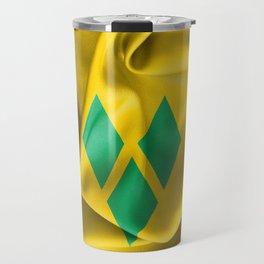 Saint Vincent and the Grenadines Flag Travel Mug