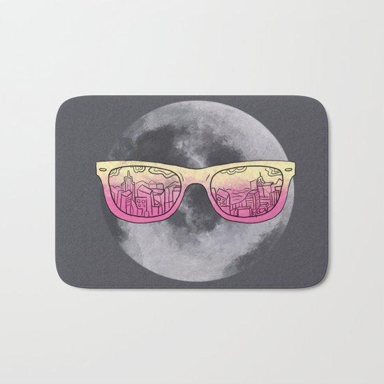 Cool moon Bath Mat