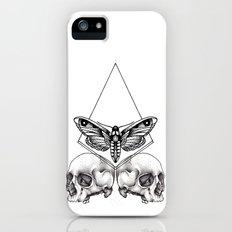 Skull moth Slim Case iPhone (5, 5s)
