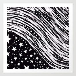 Stars and more Abstract Art Print
