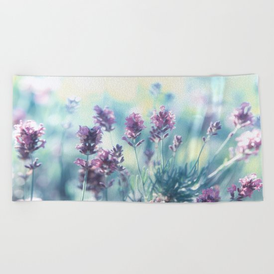 Lavender Summerdreams Beach Towel