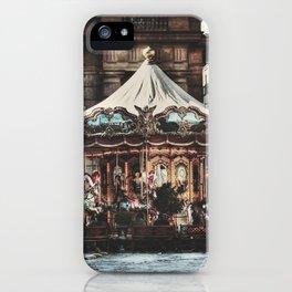 The Carousel II iPhone Case
