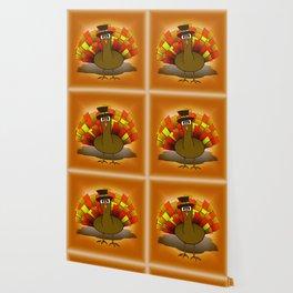 Thanksgiving Turkey Pilgrim Wallpaper