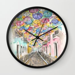 Fortaleza Street Wall Clock
