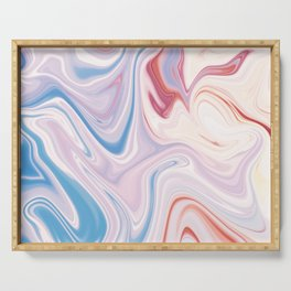 Marble  ice-cream Serving Tray