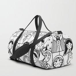 Matrioshka doodle Duffle Bag