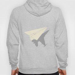 Paper Airplane Shadow B-2 Spirt  Hoody