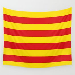 Catalan Flag - Senyera - Authentic High Quality Wall Tapestry