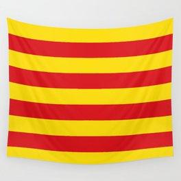 Catalonian flag of Catalan - Senyera Wall Tapestry