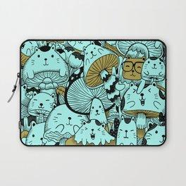 Japanese Cat Pattern Laptop Sleeve