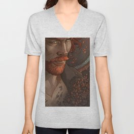 Captain Flint, Black Sails Unisex V-Neck