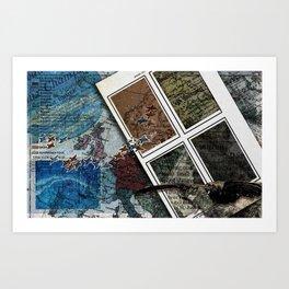 Guide Me Through Art Print