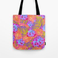 mineral Tote Bags featuring Mineral Bath by Tyler Spangler