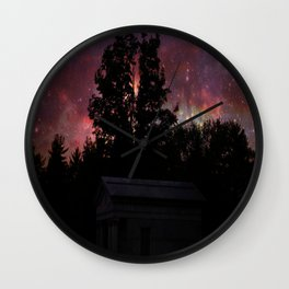 Sagendorph Family Mausoleum at Sunset Wall Clock