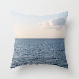 Cloud Contemplation Throw Pillow