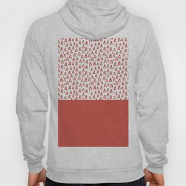 Triangles Fiesta Red Hoody