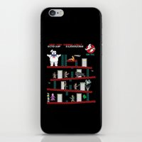 donkey iPhone & iPod Skins featuring Donkey Puft by Mike Handy Art