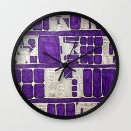 Royally Deep Wall Clock