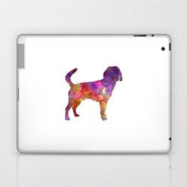 Beagle Harrier in watercolor Laptop & iPad Skin