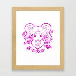 Kawaii Kiddies Cute Sweet Framed Art Print