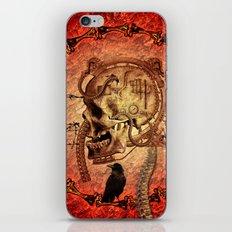 Awesome skull iPhone & iPod Skin