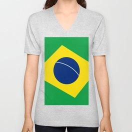 Team Brazil #brasil #selecao #bresil #brazil #russia #football #worldcup #soccer #fan #worldcup2018 Unisex V-Neck