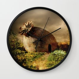 Lazy afternoon Wall Clock
