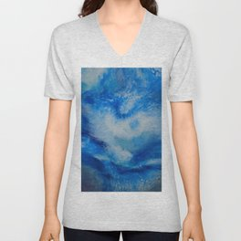 And the Heavens Opened up for Michael Unisex V-Neck