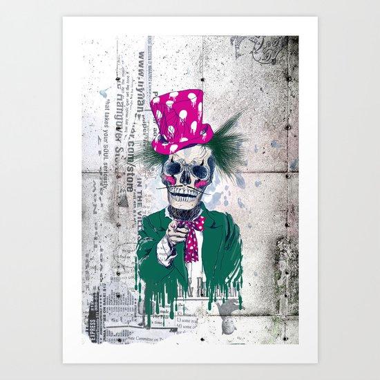 Skully Sam Art Print